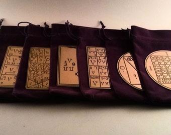 Enochian 7 Ensigns of Creation In Angel Script Dr John Dee