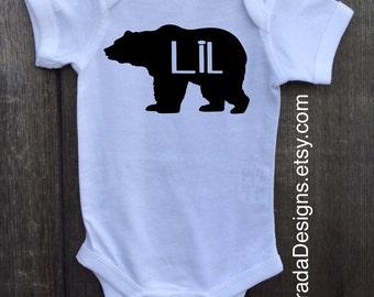 Little Brother Bear/Little Sister Bear/Big Brother Bear/Little Brother Bear/Middle Child Bear/Sibling Sets/Sibling Bear Tshirts