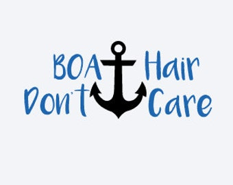 Boat Hair Don't Care - Boat Decal - Boat Hair Decal - Boat Hair Don't Care Decal - Boat Sticker - Boat Decal - Lake Decal