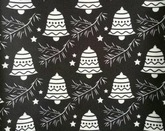Sleigh Bells cloth diaper - AIO cloth diaper - one size cloth diaper - Newborn cloth diaper - hemp bamboo - wahm cloth diaper - holiday