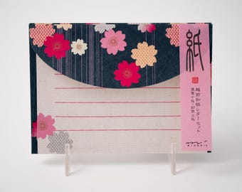 Midori weeping cherry blossom letter set (#445)