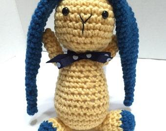 Crochet Bunny, Amigurumi Bunny, Crocheted Bunny, Long Ear Bunny