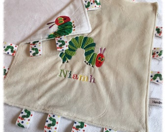 The Hungry Caterpillar Taggy Blanket