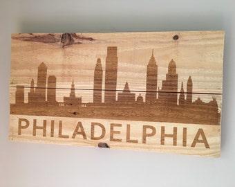 Philadelphia Pallet Wood Sign