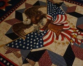 Americana: Eagle Panel; sold by the panel