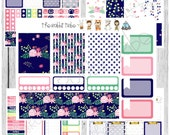 Freestyle Planning - Bright Blossoms Kit - planner stickers