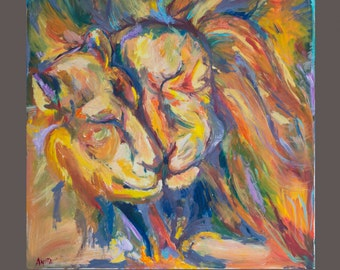 Lion's tenderness