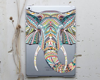 iPad Case iPad Air Case Clear iPad Pro 9.7 Case iPad Air 2 Case iPad Mini 2 Case Elephant  iPad Mini 4 Case iPad 2 Case iPad Pro Case i003