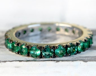 Colombian Emerald ring, emerald engagement ring, promise ring for her, ring, emerald cut, engagement ring, gemstone ring,