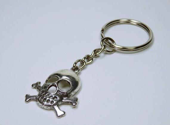 Key ring skull Pendant keychain key ring Pendants Pirate pendant for keychain keyring