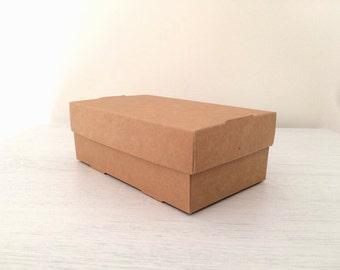 Kraft gift box - paper gift boxes - product packaging - Kraft flat folding box