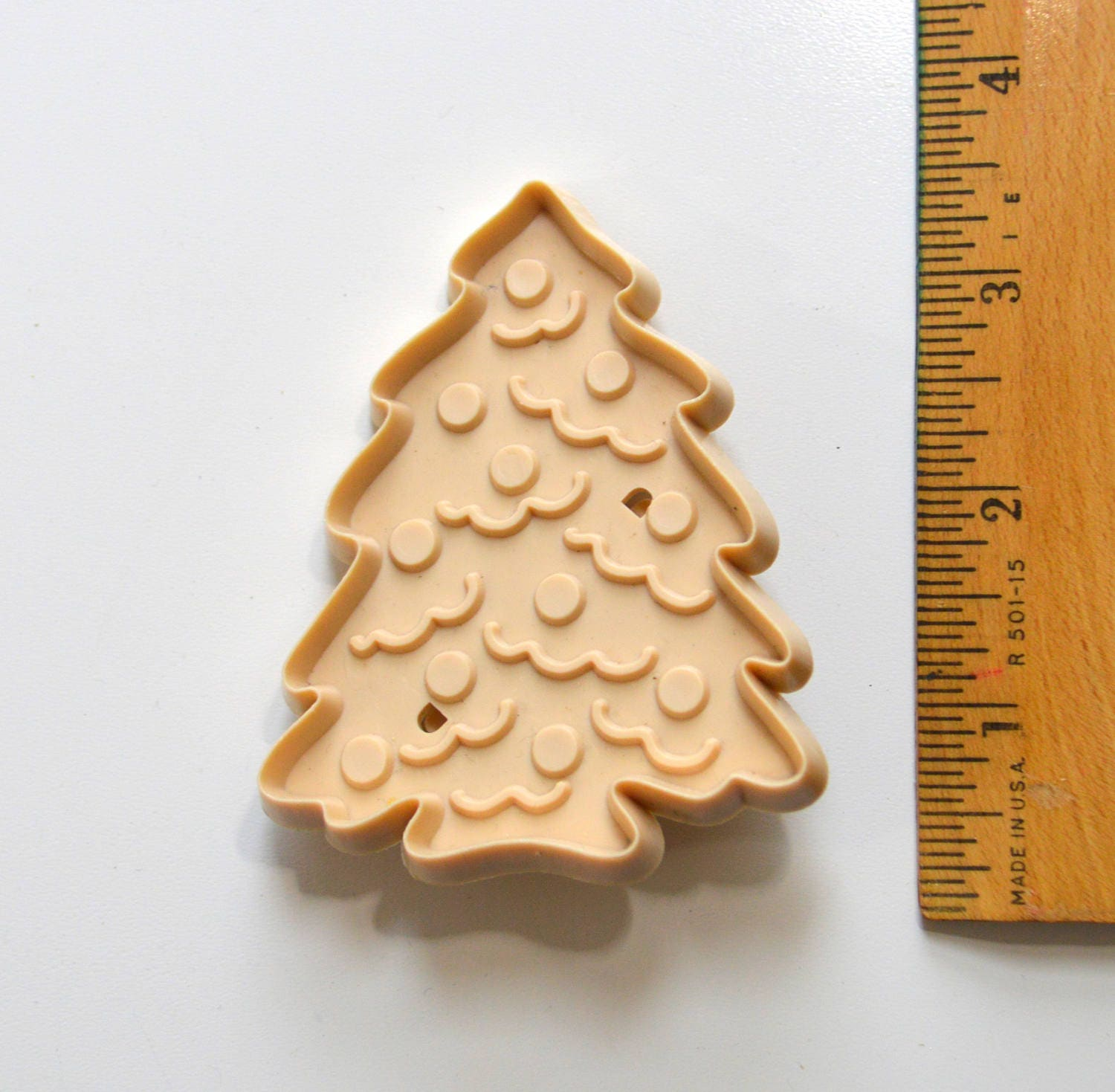 Vintage ALLSTAR CHRISTMAS TREE Cookie Cutter | 1980s 3 1/8 ...