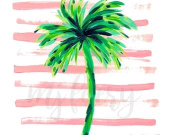 Paradise Palm Print