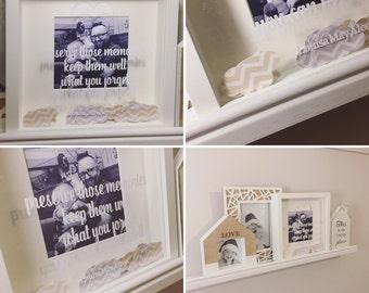 memory jar frame memory jar memory frame drop box frame keepsake frame memory jar frame