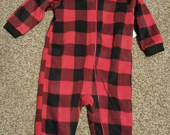 Personalized Infant PJ's/Personalized Infant Footed PJ's/Infant PJ's