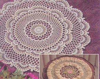Ultimate doily book Crochet doily Crochet tablecloth pattern