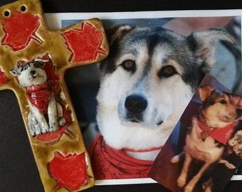 Pet Pottery Cross Custom order personalized