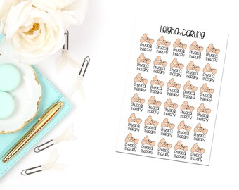 Kawaii Physical Therapy Planner Stickers