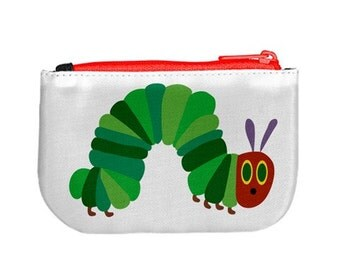 Very Hungry Caterpillar Zip Up Purse