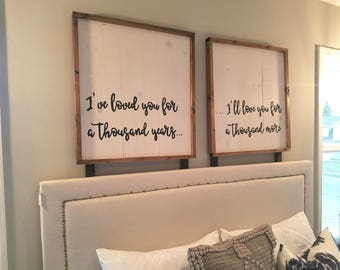 Thousand years sign set