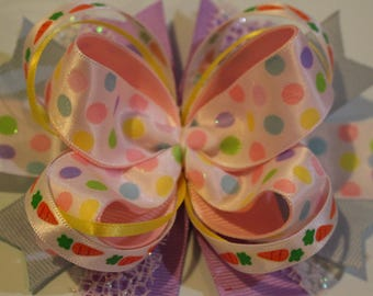 Large Stacked Easter Bow