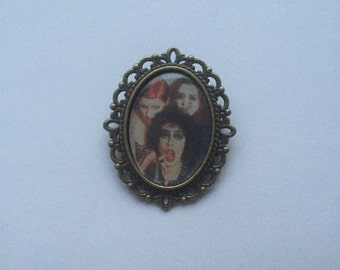 Rocky Horror Picture Show Cameo Brooch