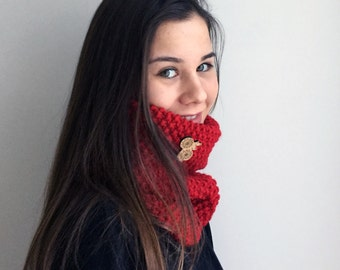 Scarve / Hand Knitted
