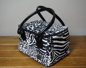 Caboodle Animal Print Makeup Bag