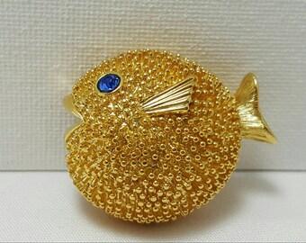 Puffy Fish Pin