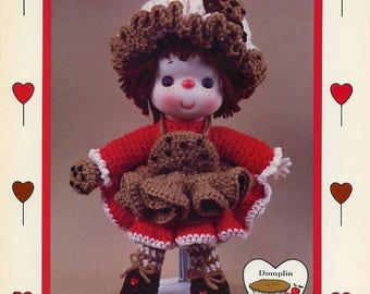 Chocolate Chip Dumplin Designs Lollipop Lane Crochet Doll Pattern Booklet CDC404
