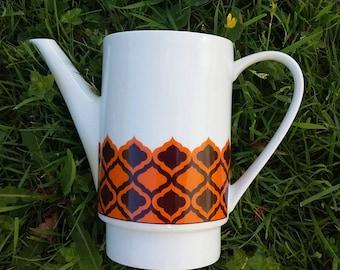 Vintage porcelain coffee pot. Melitta 60's