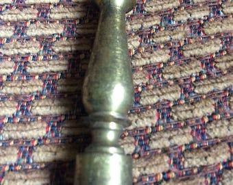 Vintage Brass Finial Lamp Finial