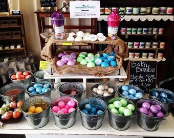 Mystery Box - Over Stocked Hand Crafted Bath Bombs, Soaps, Soy Candles, Wax Melts, Bath Salts, Milk Bath, Diffusers