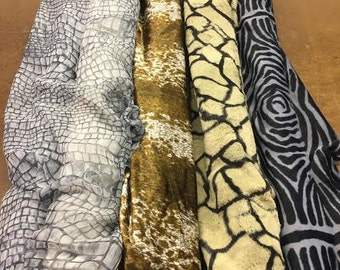 Assorted Fabrics featuring Animal Prints
