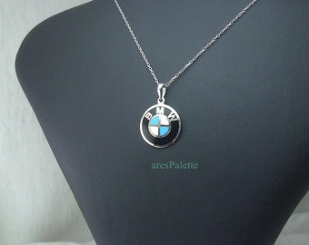 BMW Necklace-Handmade-925 silver
