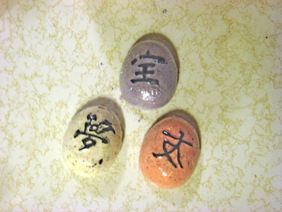 Chinese characters bath bomb gift box Bathroom in chinese characters