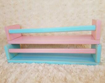 Children's Book Wall Shelf/ Distressed Wall Shelf/ Floating Shelf/ distressed wall shelves