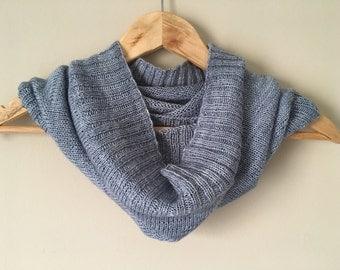 Sock yarn cowl