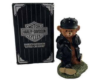 """Harley Davidson Little Cruisers """"Here's Looking at You"""" G83005 - Cavanagh Collectible - Motorcycle Harley Davidson Collectible Motor"""