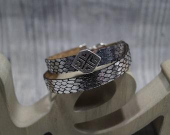 Bead Bracelet gem with Schiebeperle