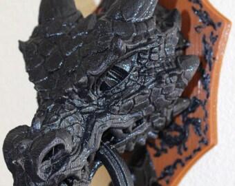 Dragon Door Knock, Dungeons & Dragons, Medevial Dragon,Creepy Halloween Decoration, Birthday Party Decor, Horror movie Mad Scientist, Spooky