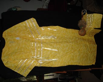 Native American t-dress, ribbon dress for pow wow and ceremony