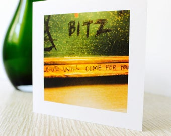 """Love/Any Occasion Greeting Card """"Love Will Come For You"""""""