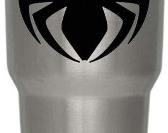 Spider Sticker,Spider,SpiderDecal, Laptop Decal, IPad/IPhone, Decal, Car Decal, Window Decal, Bumper Decal, Yeti Tumbler Decal