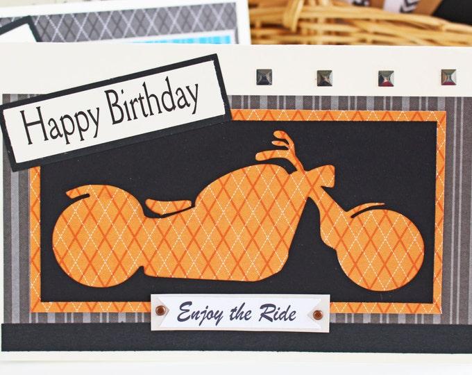 Cards For Him StudioRioPaperie – Harley Davidson Birthday Cards
