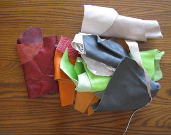 Scrap Leather-Large Pieces