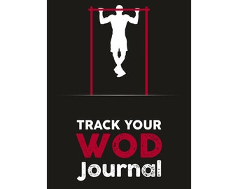 Track Your WOD Journal - DIGITAL Version - The Ultimate Cross Training WOD Tracking Journal. Wods, benchmarks, Girls + Hero, P.R.