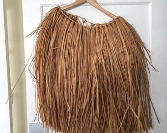 Authentic Hawaiian grass skirt