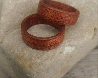 Wood Veneer Rings