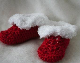 Santa's Helper Booties